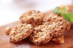 Healthy cookies royalty free stock photo