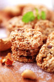 Healthy cookies royalty free stock photos
