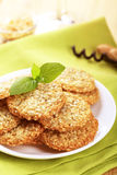 Healthy cookies Royalty Free Stock Images