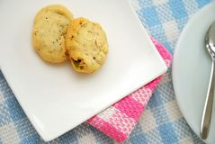Healthy cookies for breakfast or snack Royalty Free Stock Image