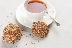 Healthy cookies with grain Royalty Free Stock Images