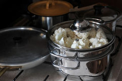 Healthy cooking: Cauliflower Royalty Free Stock Photography