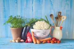 Healthy cooking and dieting Royalty Free Stock Images