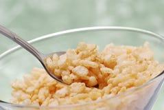 Healthy corn cereal Stock Photos