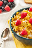 Healthy Cornflake Cereal Stock Images
