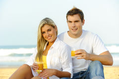 Healthy couple Royalty Free Stock Images