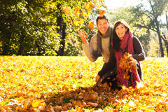 Healthy couple royalty free stock photography