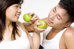 Healthy Couple 7 Stock Image