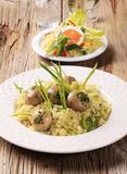 Healthy couscous dishes Royalty Free Stock Photo