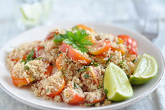 Healthy Couscous salad Stock Photography