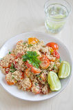 Healthy Couscous salad. With tomatoes Royalty Free Stock Photography