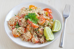 Healthy Couscous salad Royalty Free Stock Image