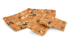 Healthy Cracker Biscuits Royalty Free Stock Photos