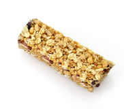Healthy cranberry snack bar Stock Photo