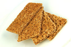 Healthy crispbread Royalty Free Stock Photo