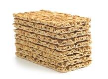 The healthy crispbread. Royalty Free Stock Photography