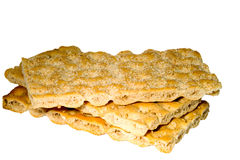 Healthy crispbread Stock Images