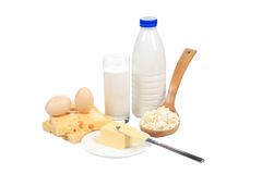 Healthy dairy products. Stock Photo