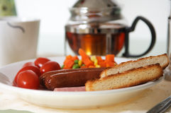Healthy delicious breakfast Royalty Free Stock Images