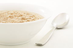 Healthy and delicious oatmeal royalty free stock images