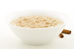 Healthy and delicious oatmeal royalty free stock photo