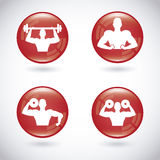 Healthy design Stock Images