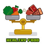 Healthy design Stock Image