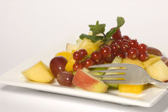 Healthy dessert Stock Photography