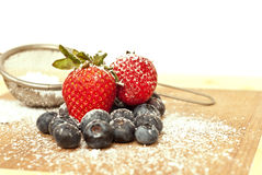 Healthy Dessert Toppings Stock Photo
