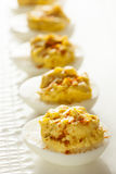 Healthy Deviled Eggs as an Appetizer Royalty Free Stock Photos