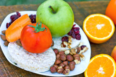 Healthy diet for athletes Royalty Free Stock Images