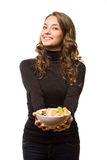 Healthy diet beauty. Royalty Free Stock Photo