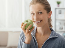 Healthy diet and fitness royalty free stock photo