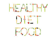 Healthy Diet Food vector illustration