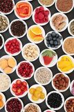 Healthy Diet Food to Promote Heart Health royalty free stock images