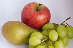 Healthy diet of fruit. Fresh fruit collection Royalty Free Stock Photos