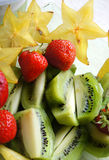 Healthy diet - fruit salad Royalty Free Stock Photography