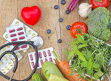 Healthy diet - healthy nutrition Royalty Free Stock Photo