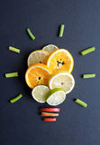 Healthy diet ideas concept Stock Photography