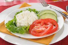 Healthy diet lunch Stock Images
