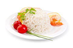 Healthy diet meal example Stock Images