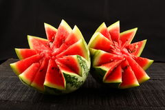 Healthy diet Organic  water melon. Stock Image