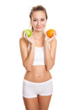 Healthy diet for perfect body Stock Images
