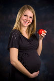 Healthy Diet Pregnancy Royalty Free Stock Image