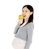 Healthy diet of pregnant woman Stock Photos