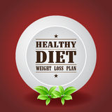 Healthy Diet Weight Loss Plan Stock Photography