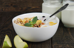 Healthy dietary breakfast Royalty Free Stock Images