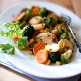 Healthy dinner Stock Photo