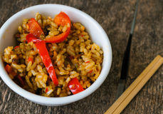 Healthy dinner Royalty Free Stock Image