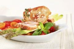 Healthy dish Stock Image